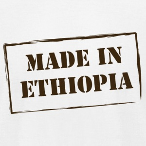 madeinethiopia T-Shirts - Men's T-Shirt by American Apparel
