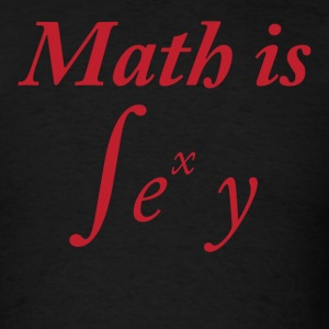 Black Math is Sexy T-Shirts - Men's T-Shirt