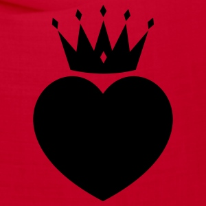 Red heart crown Other - Bandana