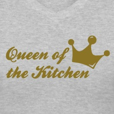 Gray queen of the kitchen Women's T-Shirts