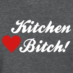Deep heather kitchen bitch Women's T-Shirts
