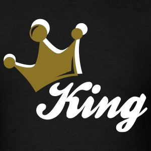 Black king T-Shirts - Men's T-Shirt