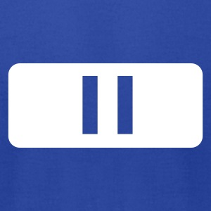 Royal blue Music - DJ - Pause T-Shirts - Men's T-Shirt by American Apparel