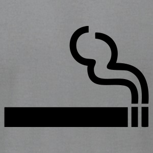 Slate Cigarette - smoking T-Shirts - Men's T-Shirt by American Apparel