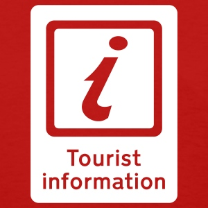 Red Tourism - Tourist Information Women's T-Shirts - Women's T-Shirt