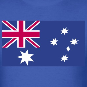 Royal blue australian flag T-Shirts - Men's T-Shirt