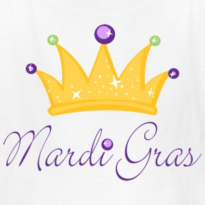 Kids Mardi Gras Crown T-shirt - Kids' T-Shirt