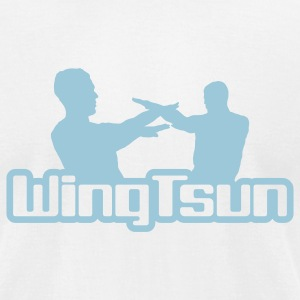 WingTsun - Men's T-Shirt by American Apparel