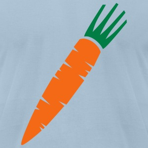 Light blue Carrot T-Shirts - Men's T-Shirt by American Apparel