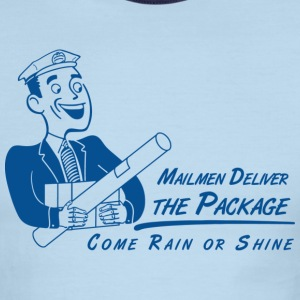 Mailmen Deliver - Men's Ringer T-Shirt