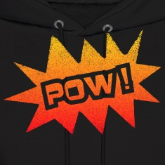 Black POW Hoodies