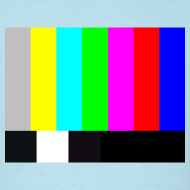 Design ~ TV COLOR BARS T-Shirt - Sheldon T-Shirt