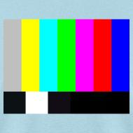 Design ~ TV COLOR BARS T-Shirt - Sheldon T-Shirt