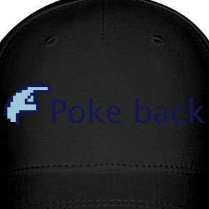Royal blue Facebook Poke back Caps - Baseball Cap