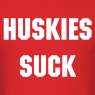 Design ~ Huskie's Suck - Men's