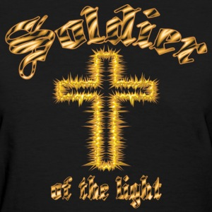 Soldier of the light(gold) - Women's T-Shirt