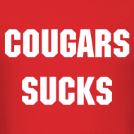Design ~ Cougars Suck - Men's
