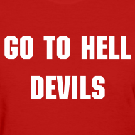 Design ~ Go To Hell - Women's