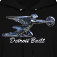 Design ~ Detroit Built Packard Women's Hooded Sweatshirt