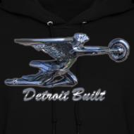 Design ~ Detroit Built Packard Women's Hooded Sweatshirt