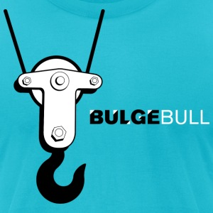 BULGEBULL HOOK - Men's T-Shirt by American Apparel