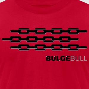 BULGEBULL CHAIN - Men's T-Shirt by American Apparel