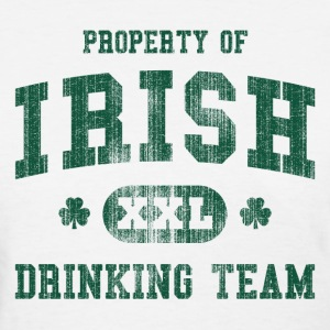 Property of Irish drinking team - Women's T-Shirt