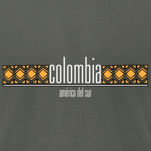 Colombia America Del Sur - Men's T-Shirt by American Apparel