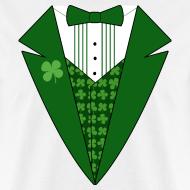 Design ~ Leprechaun Tuxedo T-Shirt, Irish Tuxedo Shirt