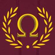 Design ~ Metallic Olympus Design Hoodie - Omega