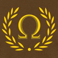 Design ~ Metallic Olympus Design T-Shirt - Omega