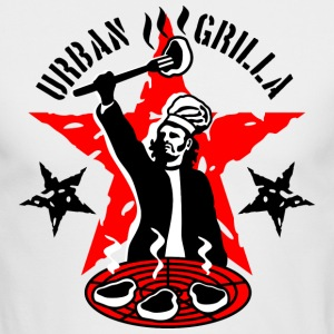 Urban Grilla, barbecue chef / cook - Men's Long Sleeve T-Shirt by Next Level