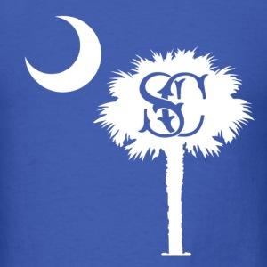 South Carolina's Palmetto Moon - Men's T-Shirt
