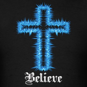 Black believe blue(dark shirts) T-Shirts - Men's T-Shirt