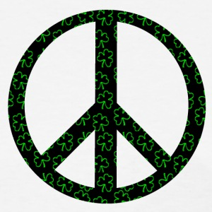 White Clover Peace Sign Women's T-Shirts - Women's T-Shirt