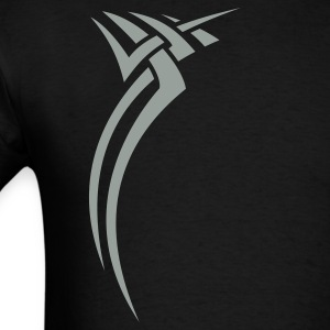 Black Tribal design 01 T-Shirts - Men's T-Shirt