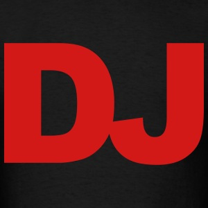 Black DJ T-Shirts - Men's T-Shirt