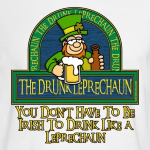 Drunk Leprechaun - Men's Long Sleeve T-Shirt