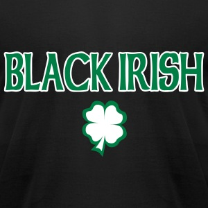 Black Irish T-Shirt - Men's T-Shirt by American Apparel