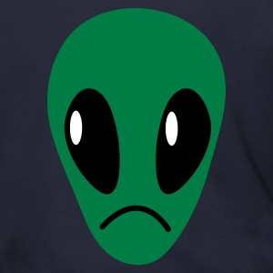 Ash  upset sad face alien Zip Hoodies/Jackets - Men's Zip Hoodie