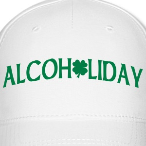 White Alcoholiday Caps - Baseball Cap