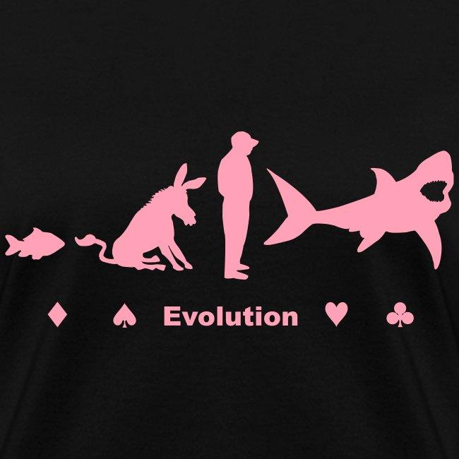 Evolution of Poker