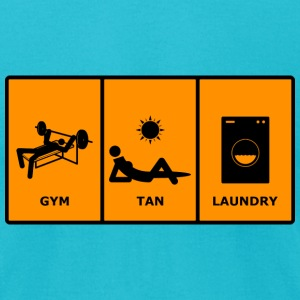 GTL Gym Tan Laundry T-Shirts - Men's T-Shirt by American Apparel