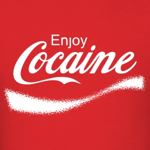 Enjoy Cocaine - Men's T-Shirt