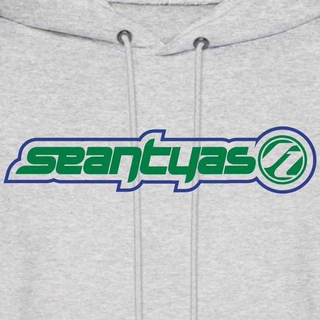 2 Color Logo Hoody