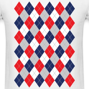 Norwegian Curling Harlequin / dd - Men's T-Shirt