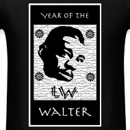 Design ~ Year of the Walter t-shirt (black)