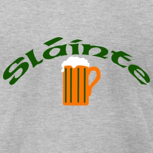 Slainte - Men's T-Shirt by American Apparel