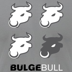 BULGEBULL HEAD - Men's T-Shirt by American Apparel