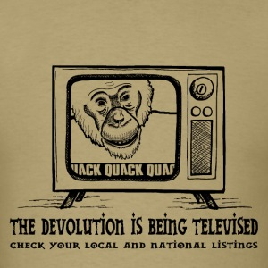 Devolution Televised - Men's T-Shirt